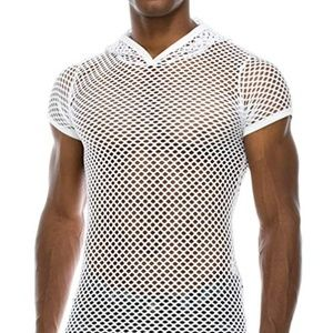 Other - New Mesh Tee- Men or Women! White size Large